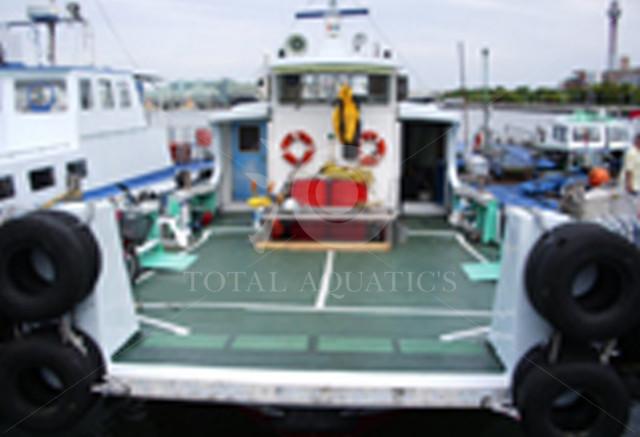 平台船 自走式 FRP