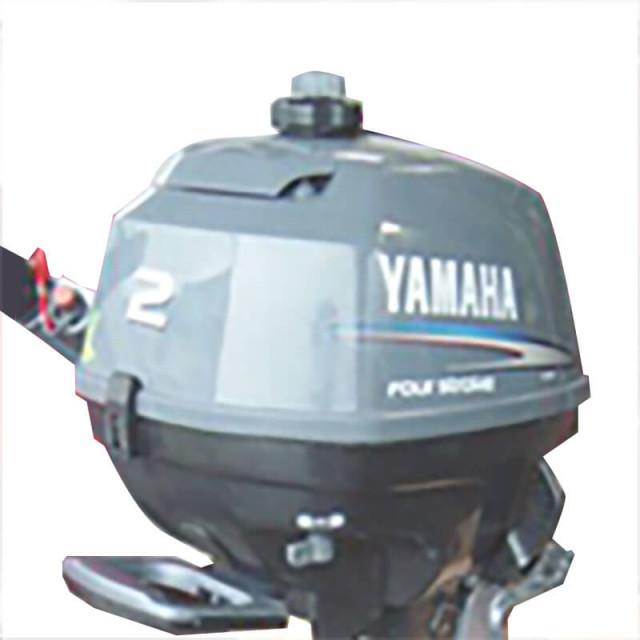ヤマハ船外機2馬力 4ストローク エンジンタンク一体型