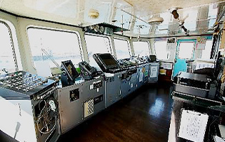 船舶コーディネート 操舵室