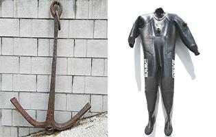 マリン用品レンタル 錨 ウエットスーツ