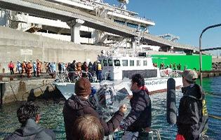 船舶撮影・カメラ船 カメラ船撮影