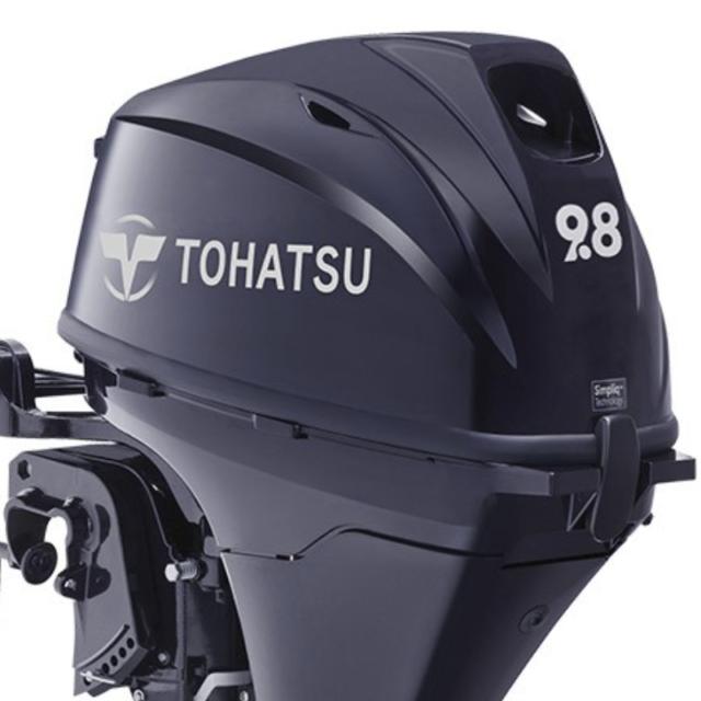 トーハツ9.8馬力船外機 4ストローク エンジンタンク別